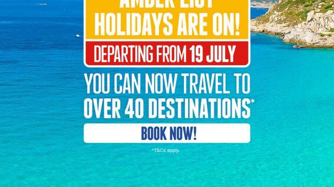 lazaros hotel resort - from amber list to book-it list
